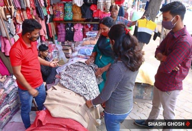 markets in Kolkata in covid
