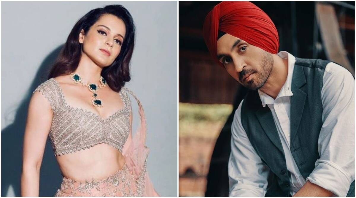 Kangana says Priyanka, Diljit disappeared after provoking farmers; the Punjabi star responds