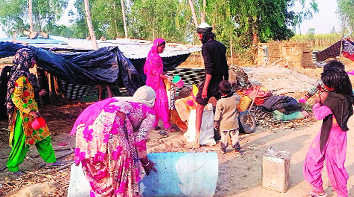Rescued as bonded labourers, three families nurse wounds as they await monetary help