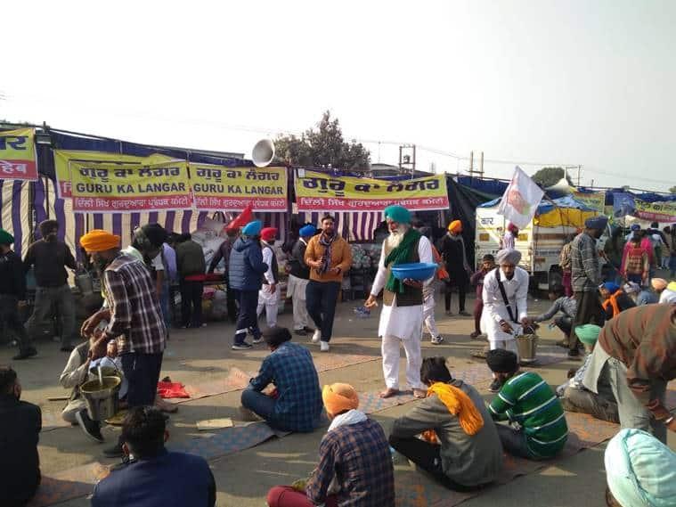 farmers protest, singhu border, shaheen bagh, farmers protest shaheen bagh, farmers at singhu border delhi, VK singh on farmers, farmers protest khalistan, farmers protest delhi traffic, indian express