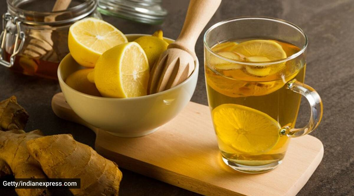 nutrition, glowing skin, lovneet batra, how to have glowing skin, skincare, skincare diet, how to get glowing skin, indianexpress.com, indianexpress, drinks for glowing skin, lemon, ginger and cucumber mix,
