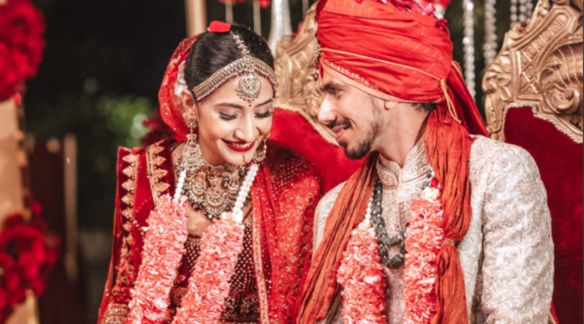 Yuzvendra Chahal and YouTuber Dhanashree Verma tied the knot in Gurugram on Tuesday' receives congratulations on his wedding