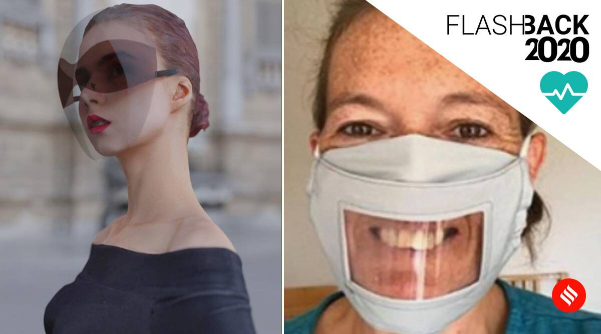 mask, face shield