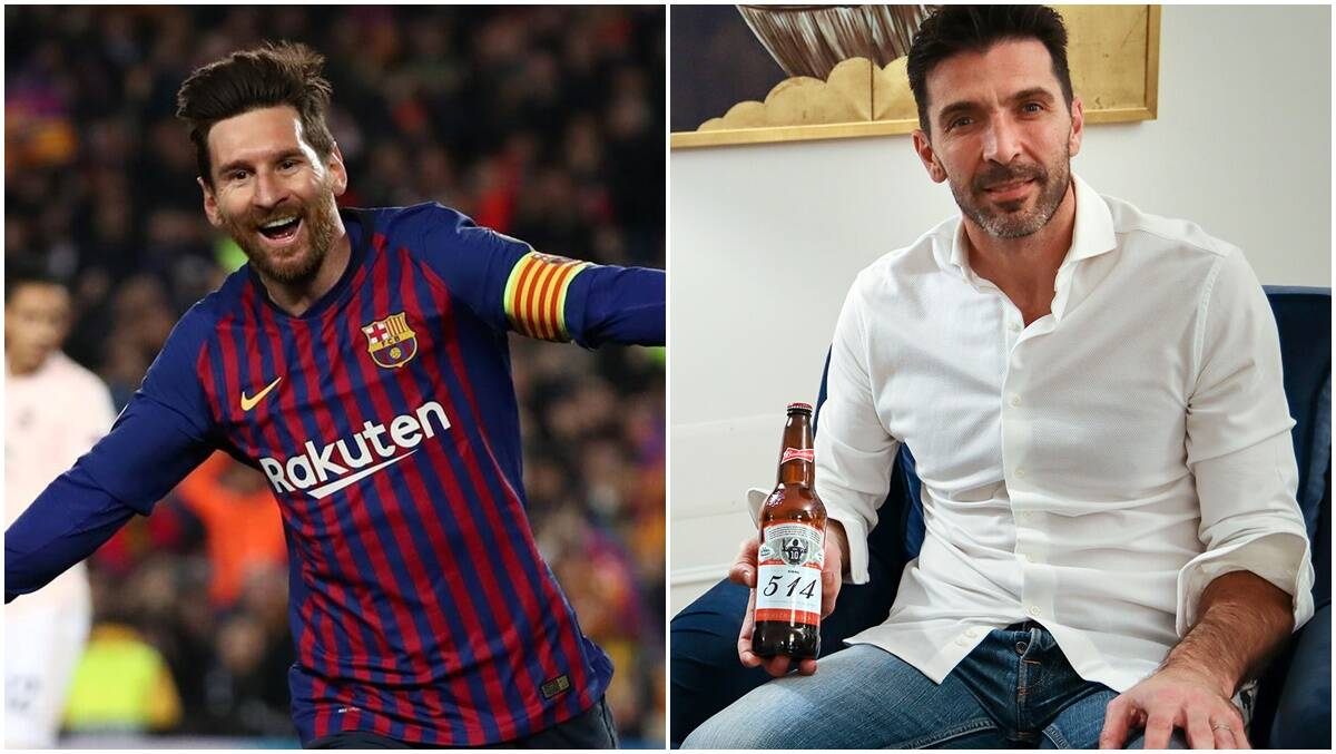 644 beers, 160 goalkeepers: Lionel Messi's victims each receive a Budweiser