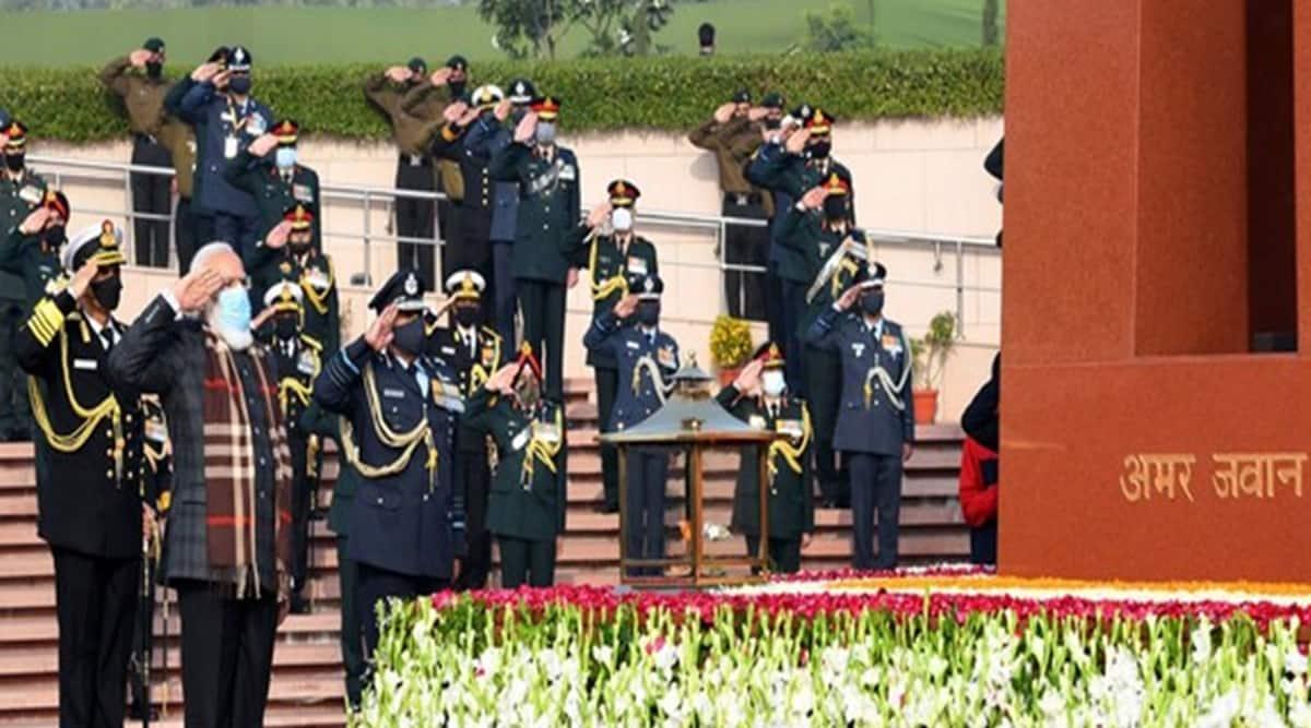 PM Modi lights 'Swarnim Vijay Mashaal' for 50th anniversary celebrations of 1971 Bangladesh war victory