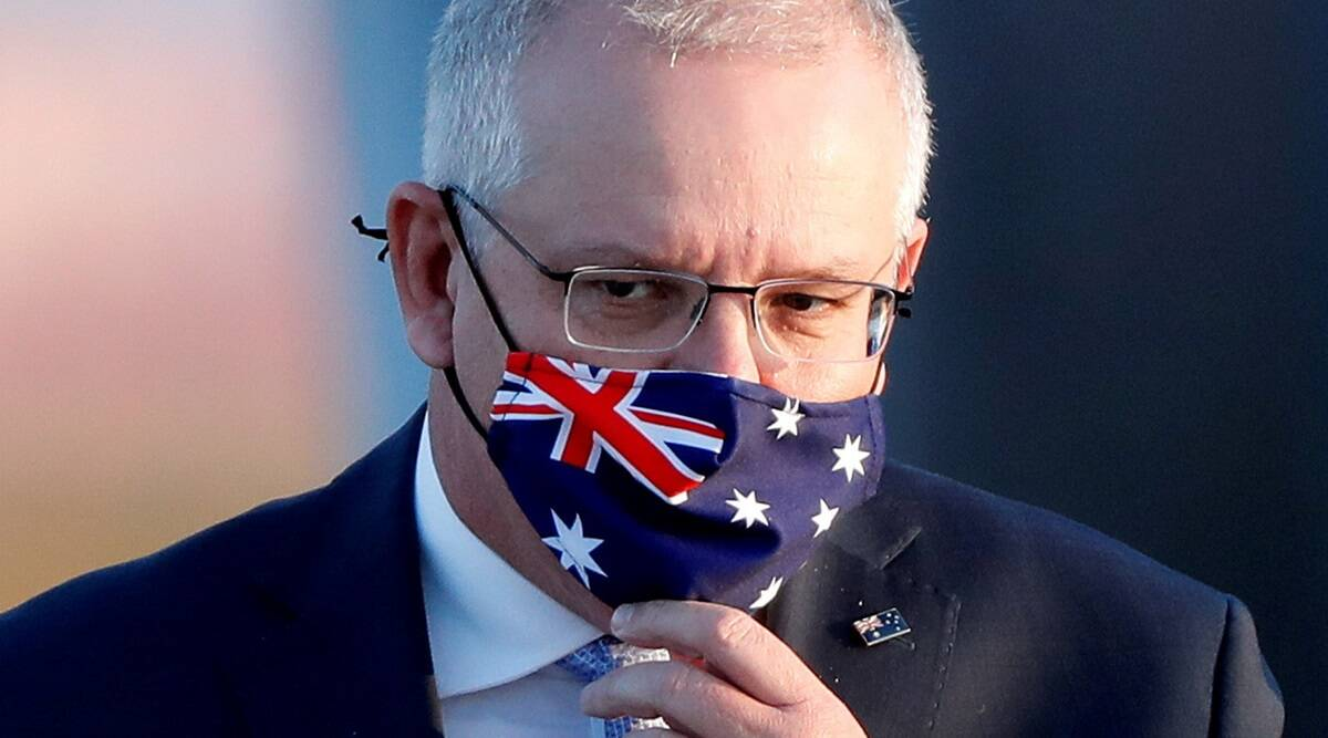 scott morrison, australia, scott morrison wechat message, australia china dispute, australia soldiers afghan citizens, indian express