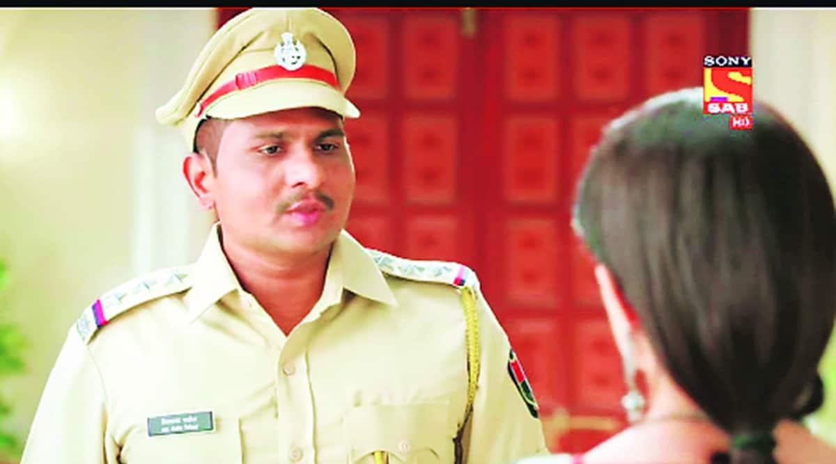 Mumbai police, mumbai cop actor, mumbai cop off days acting, mumbai cop tv show actor, indian express news