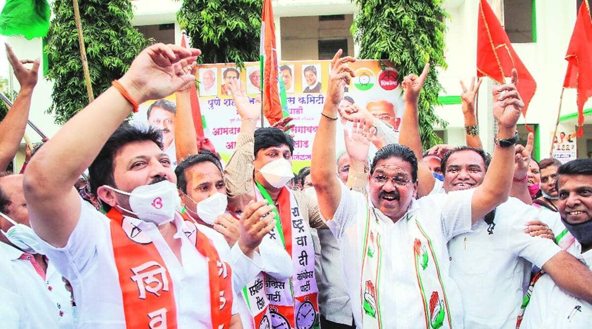 Maha Vikas Aghadi, Nationalist Congress Party, Pune, Pimpri-Chinchwad, Ankush Kakade, NCP Ankush Kakade, AICC secretary Prithviraj Sathe, Sharad Pawar-led Nationalist Congress Party, pune news, indian express