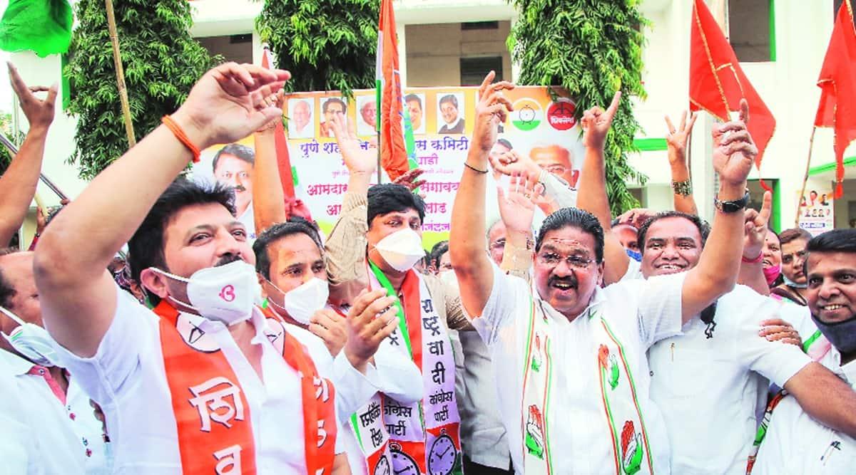 Maharashtra council polls, maharashtra bjp, maha vikas aghadi, maharashtra council polls result, maharashtra bjp looses Maharashtra council polls, indian express news