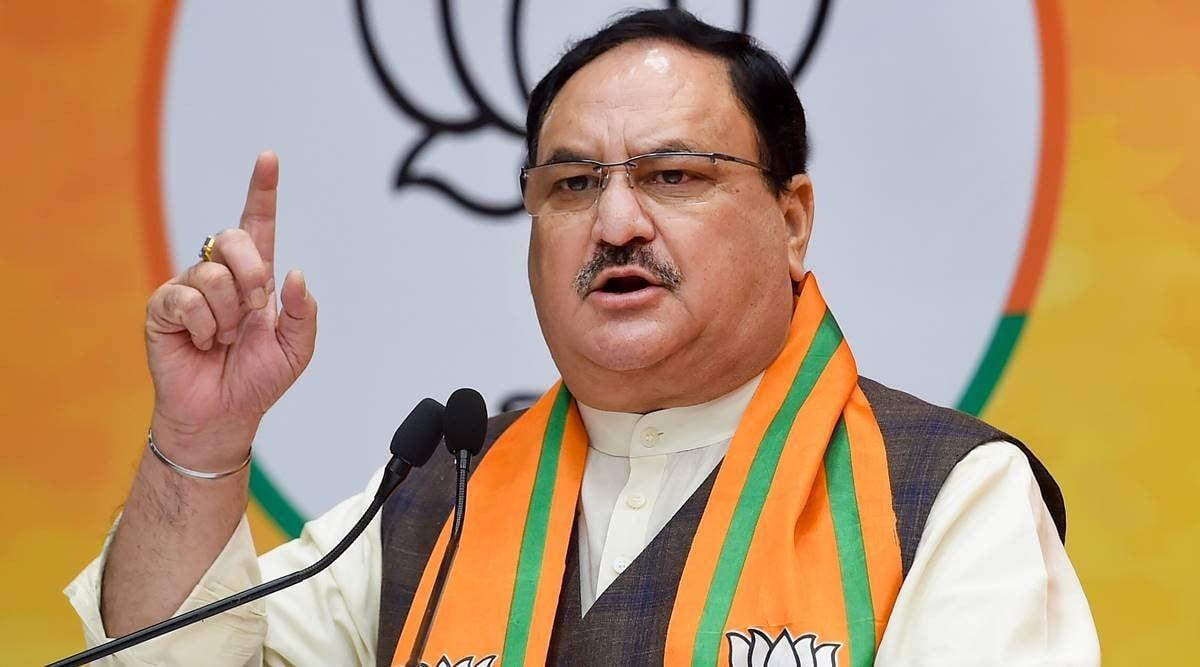JP Nadda, uttar pradesh cabinet, yogi adityanath, JP nadda Up visit, indian express news