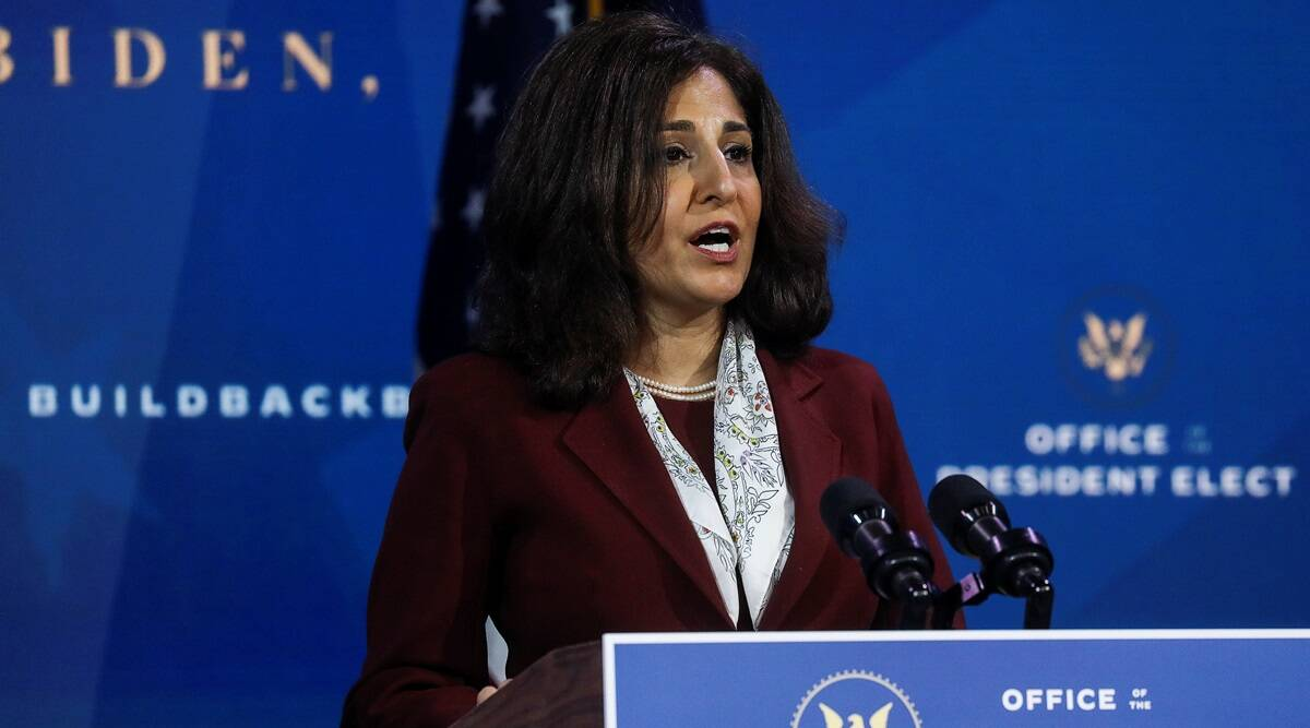 neera tanden, joe biden on neera tanden, neera tanden budget chief, indian express