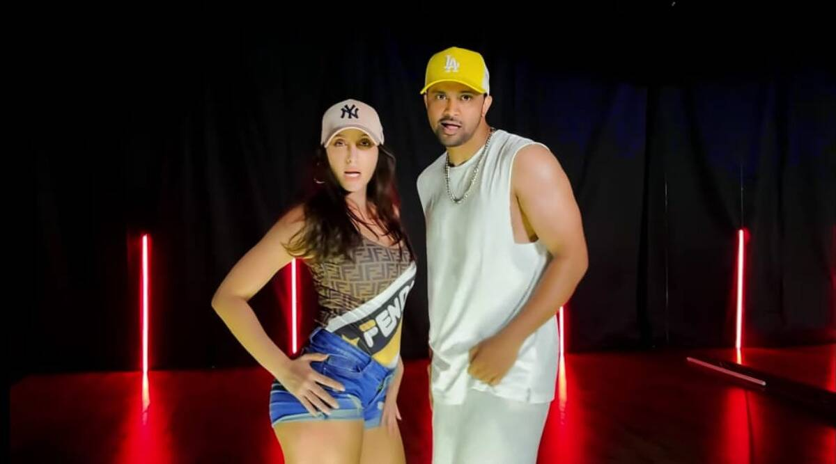 nora fatehi, rajit dev, dance video body ody
