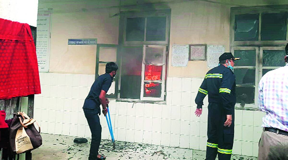 fire safety officers, gujarat Fire compliance in buildings, Ahmedabad news, Gujarat news, Indian express news