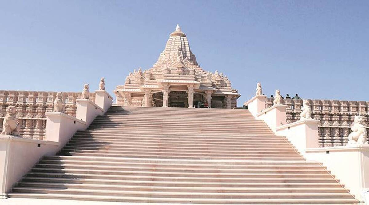 Leuva Patels, Khodaldham temple, Gujarat politics, AHmedabad news, Gujarat news, Indian express news