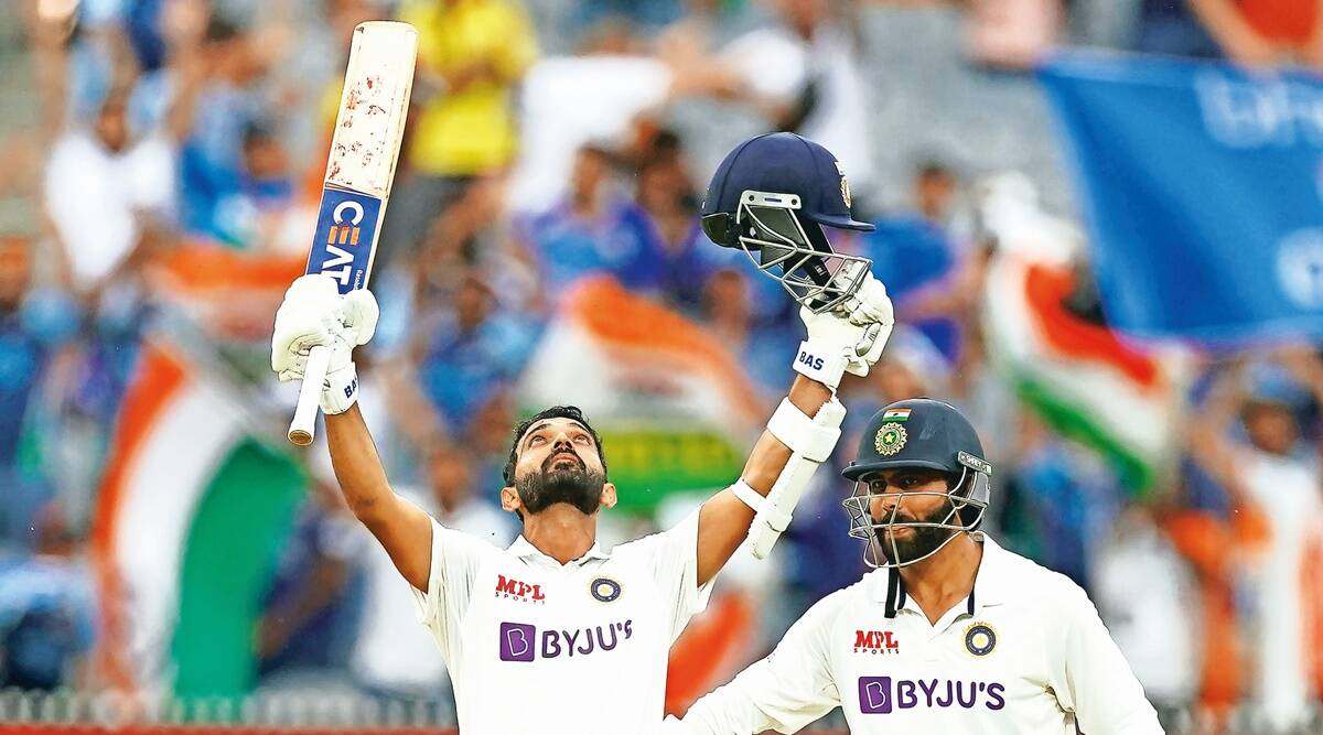 Ajinkya Rahane, MCG century, Melbourne Cricket Ground, Ind vs Aus Test, Indian express news