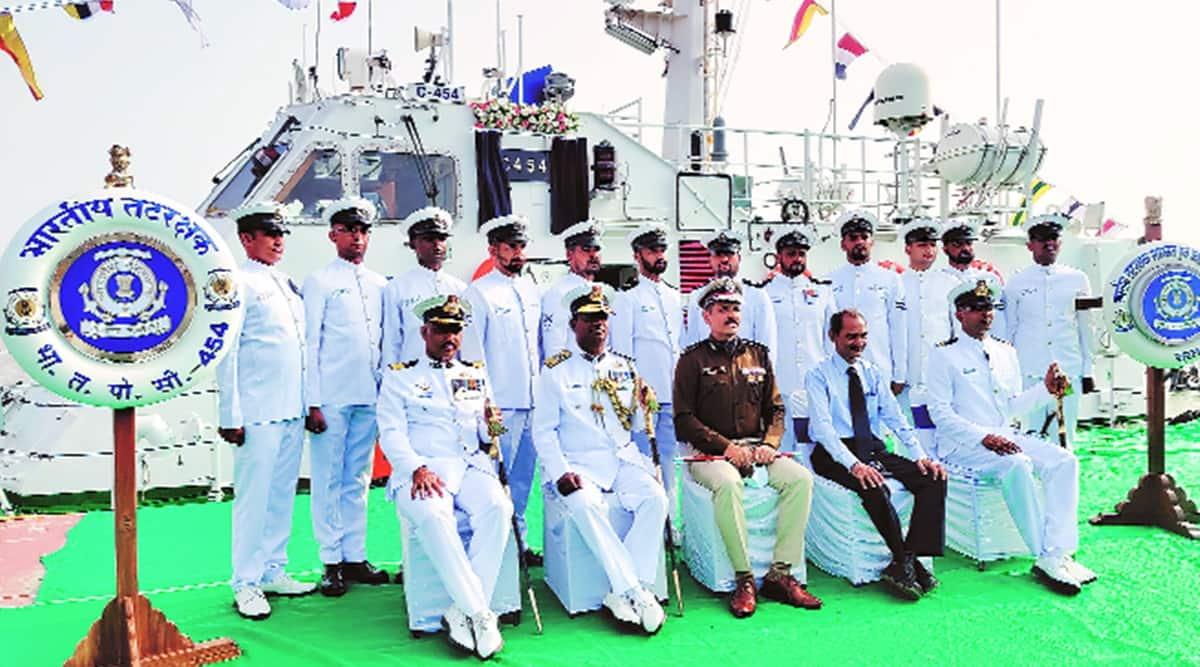 Indian Coast Guard, interceptor boat, Surat news, Gujarat news, Indian express news