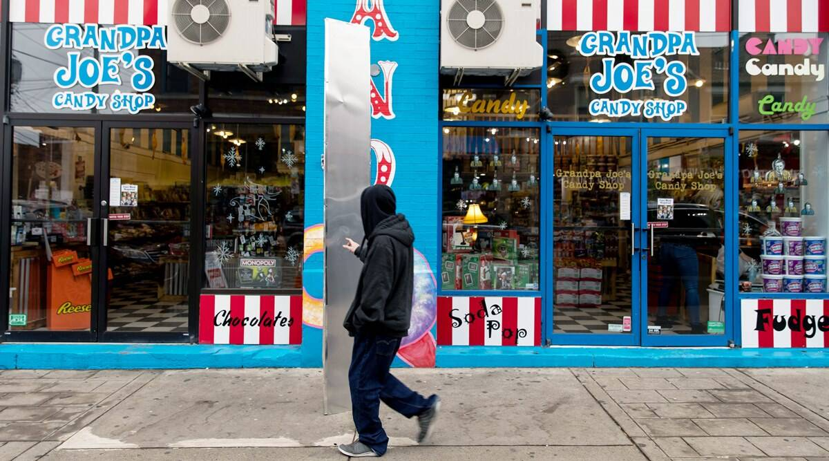 monolith, Pittsburgh monolith, fourth monolith, Grandpa Joe's candy shop monolith, monolith marketing gimmick, viral news, odd news, indian express