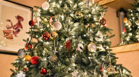 creative Christmas activities for kids, Christmas art and craft ideas for children and parents, Christmas tree ornaments, parenting, indian express news