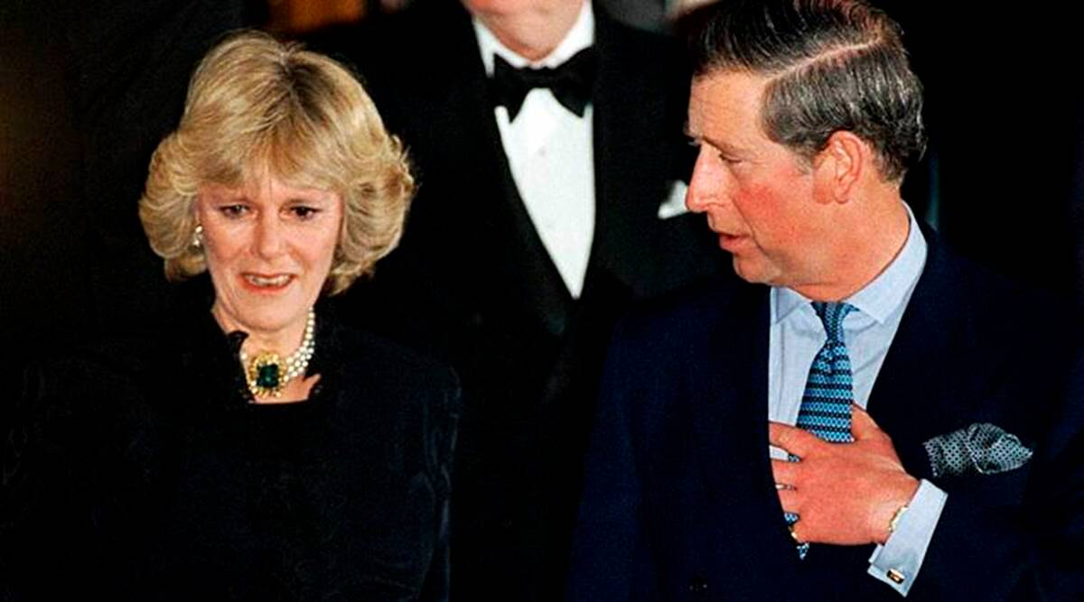 Charles and Camilla, The Crown, Charles and Camilla on the The Crown, Charles and Diana on The Crown, Charles and Camilla in real life, indian express news