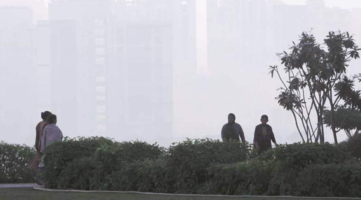 Mumbai cold, Mumbai weather, Mumbai warmest in decade, India Meteorological Department, Mumbai news, Maharashtra news, Indian express news