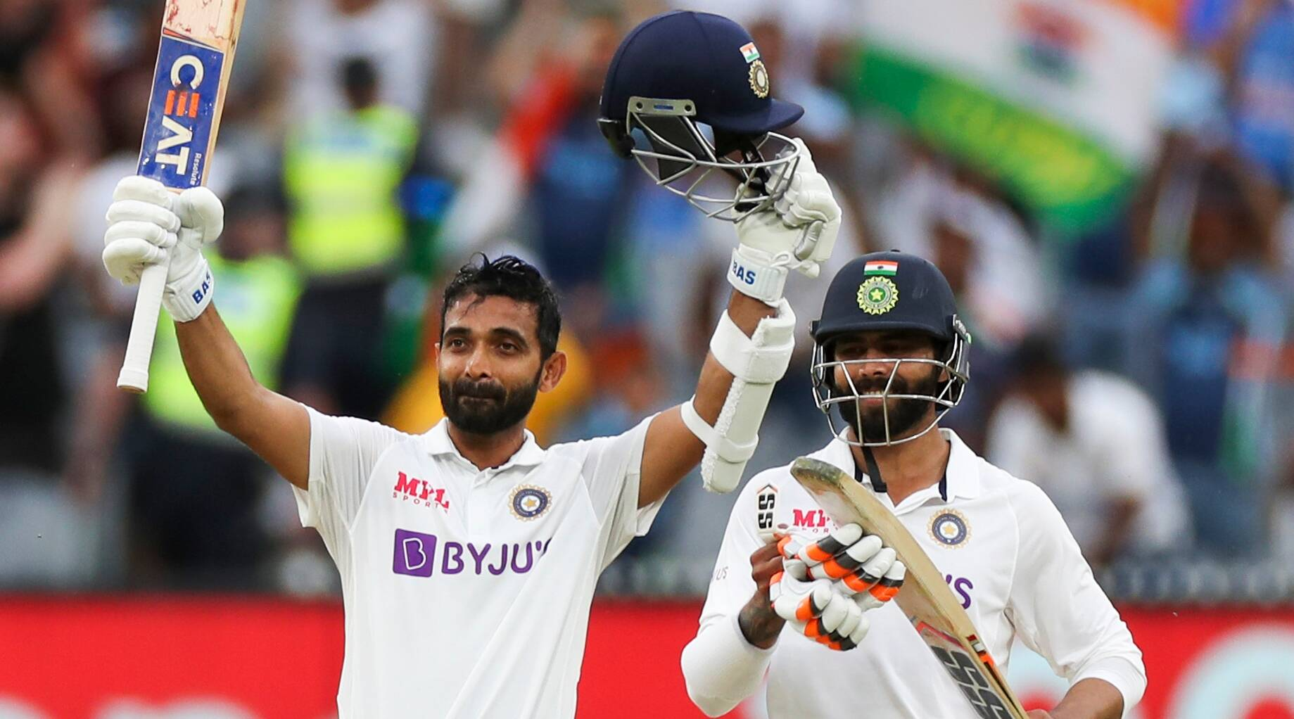 O Captain! My Captain! Rahane's memorable hundred puts India in charge |  Sports News,The Indian Express