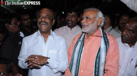 rajinikanth birthday, modi, rajinikanth