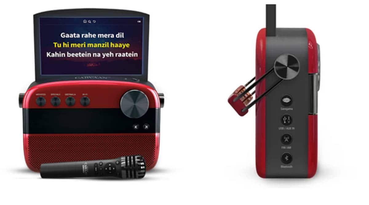 Saregama Carvaan Karaoke, Saregama Carvaan Karaoke launch, Saregama Carvaan Karaoke price india, Saregama Carvaan Karaoke features, Saregama Carvaan Karaoke screen