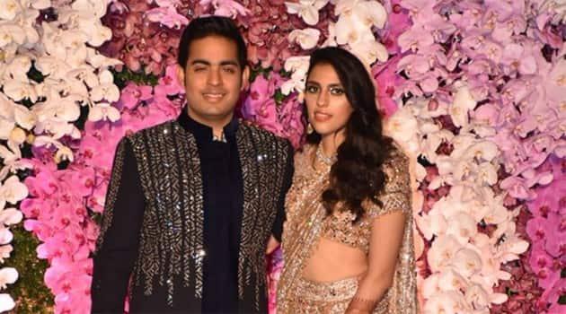 Akash Ambani-Shloka Mehta, Akash Ambani-Shloka Mehta photos, Akash Ambani-Shloka Mehta baby, Akash Ambani-Shloka Mehta photos, indian express, indian express news