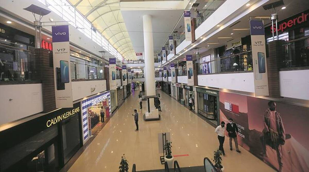 Delhi shopping centres, South Delhi Municipal Corporation, conversion fee, Delhi news, indian express news