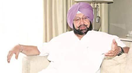 Amarinder Singh, Punjab CM, Punjab BJP, Punjab bjp workers attack, punjab news, indian express news