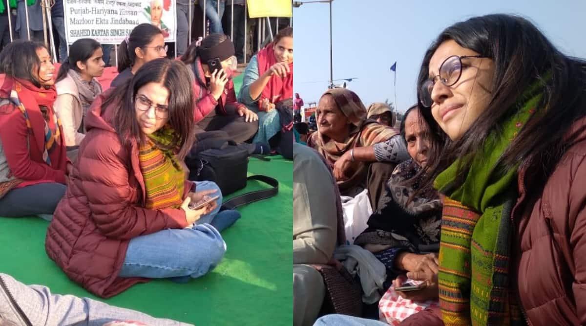 farmers protest swara bhasker