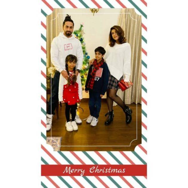 ayushmann khurrana christmas