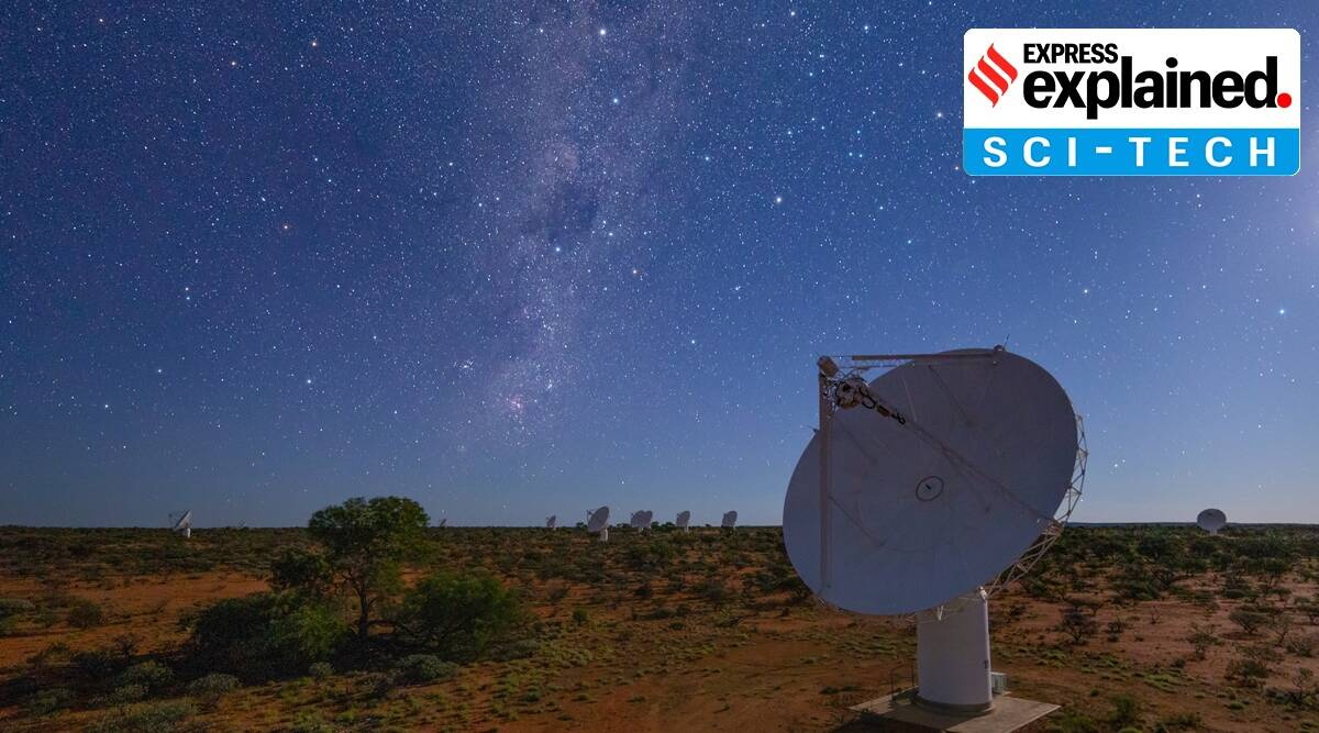 Explained: How a telescope in Australia is creating a 'Google map' of the Universe - The Indian Express