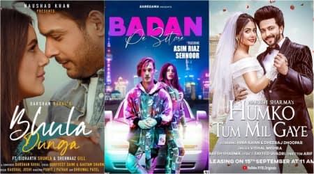 sidharth shukla, hina khan, asim riaz, tv stars in music video