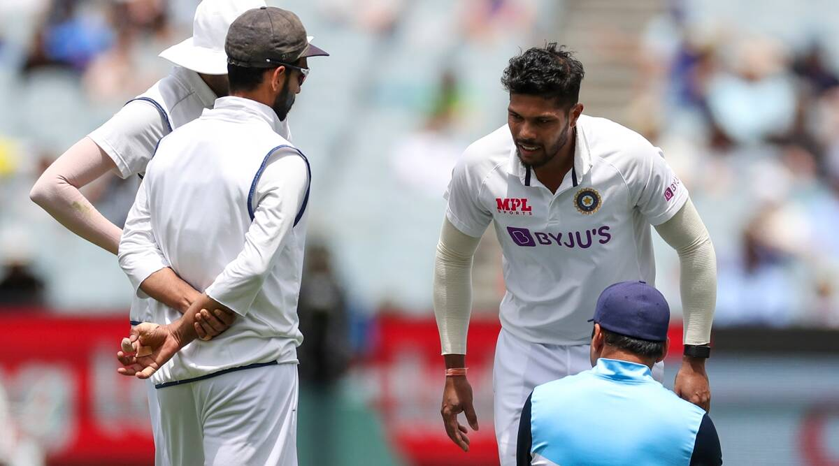 India vs Australia 2020-21: 'Boxing Day Test: India fast bowler Umesh Yadav suffering a calf muscle injury during the third day of the second Test