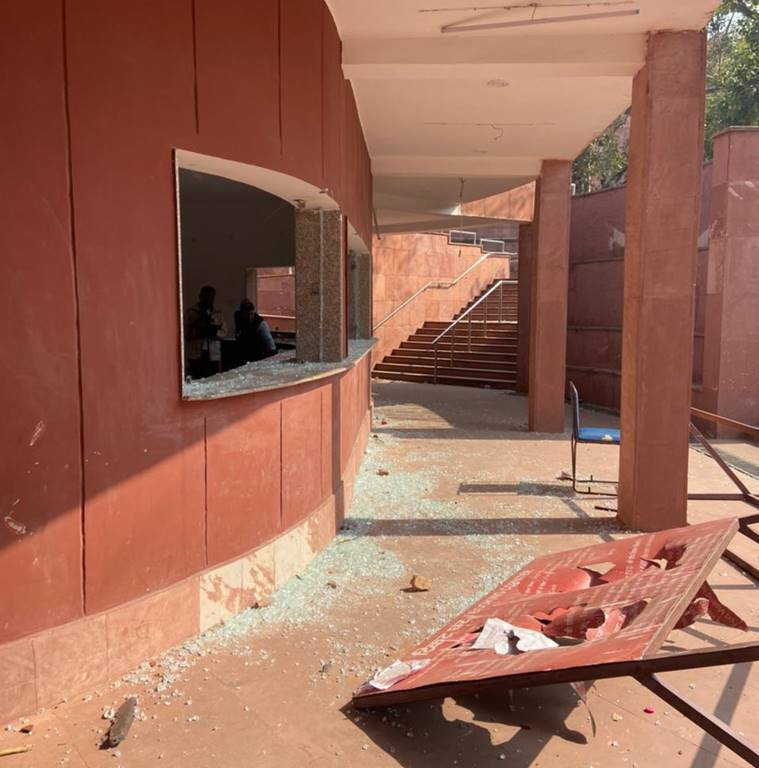 Damaged cameras, ransacked offices: Red Fort a day after mob vandalism