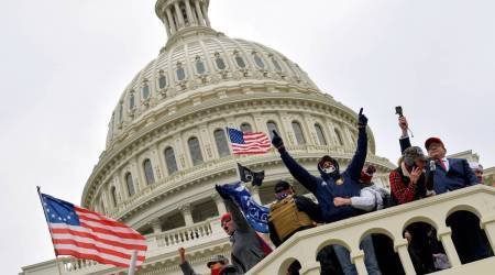 Pro trump protesters, attack on Trump supporters, US capitol hill seige, US news, FBI, world news, anti-Donald Trump, Indian Express