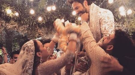 22 new photos from Varun Dhawan-Natasha Dalal wedding new
