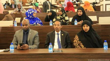 somalia, somalia elections, somalia elections date, Amina Mohamed Abdi, somalia elections women candidates, Mohamed Hussein Roble, indian express news
