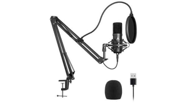best microphones, best mics, Dolby Go, best lavalier microphone, Boya BYM1 lav mic, Boya BYM1 specs, Rode Go lav mic, Rode Lavalier Go, AKG Lyra specs, best lavalier mics, best sound recording apps, best phone mics,