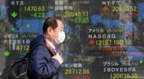 Japan shares fall on pandemic worries as rest of Asia rises