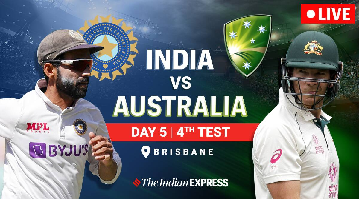 India vs Australia 4th Test, Day 5 Live Cricket Score: Shubman Gill hits fifty