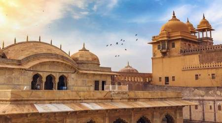 Citing health of animals, Centre says stop elephant rides at Jaipur Amer Fort