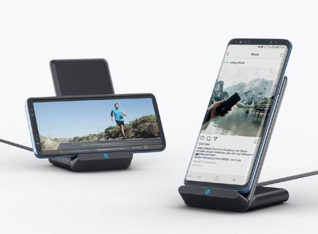Sony subwoofer, Anker 10W Fast Wireless Charging stand, Asus laptop, Samsung Galaxy A02, samsung, anker, wireless charger, sony