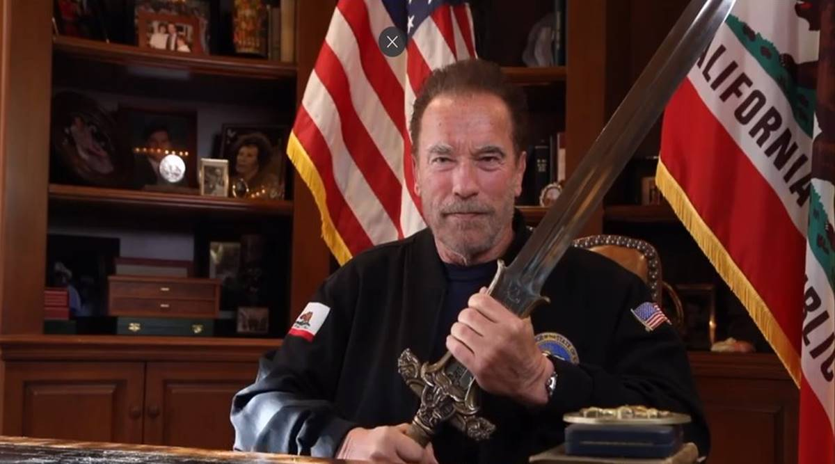 Schwarzenegger's Bold Message On The Capitol Riots