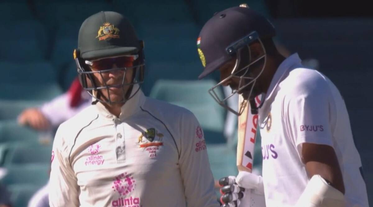 Watch: Tim Paine tries to sledge, R Ashwin gives it back to him | Sports  News,The Indian Express