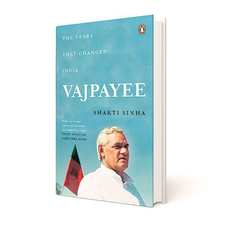 vajpayee book cover
