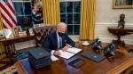 Joe Biden, Joe biden signs 17 executive orders, Biden first day, Donald trump policies, US news, US president, world news