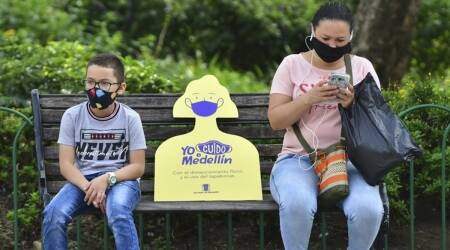 Colombia lockdown, Colombia coronavirus news, Bogota covid lockdown, Colombia covid lockdown, covid cases in Colombia, world news, Indian Express