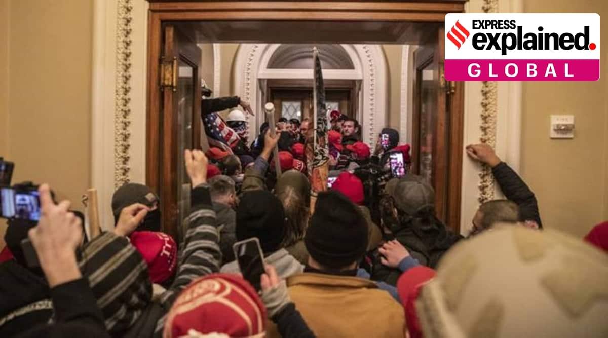 Capitol Hill Siege, US Capitol